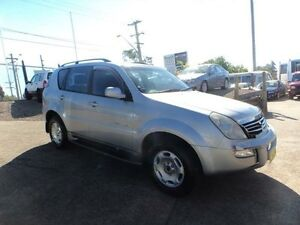 2005 Ssangyong Rexton Y200 RX270 XDI Limited Silver 5 Speed Auto Steptronic Wagon North St Marys Penrith Area Preview