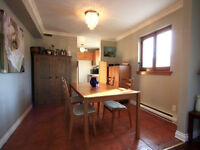 St-Henri 4 1/2 with private garage for rent or sale