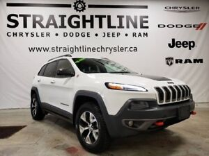 2015 Jeep Cherokee Trailhawk/V6/REMOTE START/HEATED SEATS&WHEEL