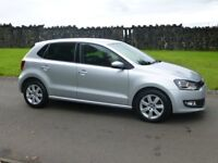 2012 VW POLO 1.2 TDI MATCH 5 DR 68000 MILES 20 POUNDS ROAD TAX