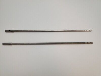 Lot Of 2 Zimmer 1147-30 Cannulated Surgical Drill Bit 5.0mm