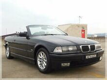 1997 BMW 328I E36 High-Line Black 5 Speed Automatic Convertible North Curl Curl Manly Area Preview