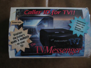 Caller ID for TV