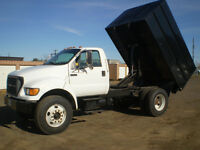 2000 Ford F750 S/A Dump Truck.. Very Nice, Safetied...101,000 MI
