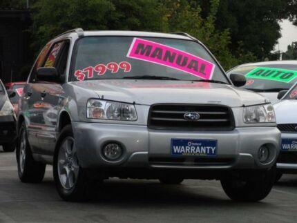 2003 Subaru Forester MY04 XS Luxury Silver 5 Speed Manual Wagon Homebush Strathfield Area Preview