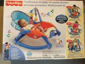 Fisher Price Newborn to Toddler Portable Rocker Windsor Region Ontario image 1