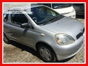 2002 Toyota Echo NCP10R Sportivo Silver 5 Speed Manual Hatchback Jewells Lake Macquarie Area Preview
