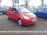 2006 (06 Reg) Mitsubishi Colt 1.3 CZ2 3DR Hatchback RED + LOW MILES