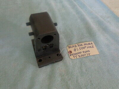 Block Tool Holder 1.5 Bmt 65 Turret For Deawoo Puma 2000 Doosan Cnc Lathe