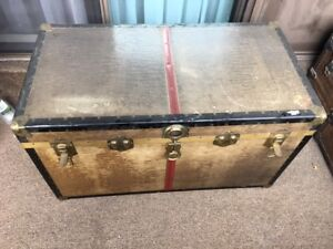 Antique Rustic Trunk