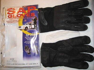SAP Combat Law Enforcment 8 oz. Steel Shot Gloves - BRAND NEW!!