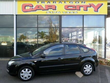 2005 Ford Focus CL Black Automatic Hatchback Traralgon Latrobe Valley Preview