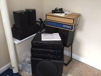 AE series 1 home cinema set of speakers
