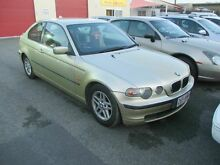 2002 BMW 316TI E46 Gold 5 Speed Auto Steptronic Hatchback Coopers Plains Brisbane South West Preview