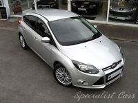 FORD FOCUS 1.6 ZETEC TDCI 5d 113 BHP Appearance Pack, £ (silver) 2012