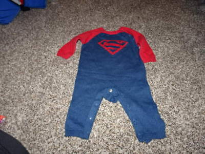 BABY GAP JUNK FOOD 3-6 SUPERMAN OUTFIT](Superman Outfit Child)