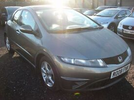 HONDA CIVIC 2.2 SE I-CTDI 5d 139 BHP Economical and practical (grey) 2008