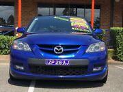2006 Mazda 3 BK1032 MPS Blue Manual Hatchback Mount Druitt Blacktown Area Preview