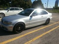 """2004 BMW 330CI Coupe 6 speed 19"""" CSL rims Etested. Service recor"""