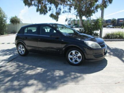 2004 Holden Astra AH CDX Black 4 Speed Automatic Hatchback