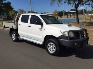2011 Toyota Hilux Workmate Dual Cab Hermit Park Townsville City Preview
