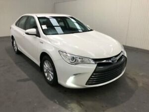 2017 Toyota Camry AVV50R ALTISE White Constant Variable Sedan Moonah Glenorchy Area Preview