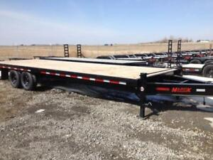 Majestik H270 25ft/5ft Dove Tail with Flip over Ramps - 1989