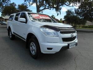 2013 Holden Colorado RG LX (4x2) White 6 Speed Automatic Crewcab Nailsworth Prospect Area Preview