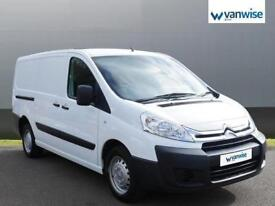 2014 Citroen Dispatch 1000 1.6 HDi 90 H1 Van Enterprise Diesel white Manual