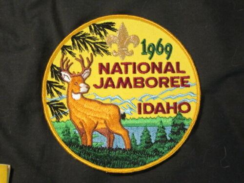 1969 National Jamboree Jacket Patch       eb23