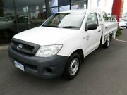 2008 Toyota Hilux WORKMATE MY08 White Manual Utility Traralgon Latrobe Valley Preview