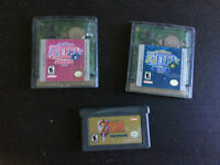 GBA Game Boy Advance GB Games Jeux Zelda Oracle Link to the Past