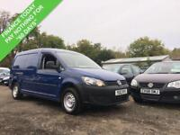 2012 12 VOLKSWAGEN CADDY MAXI 1.6 TDI C20 BLUEMOTION TECHNOLOGY 101 BHP**NO VAT*