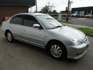 2003 Honda Civic 7th Gen MY2003 GLi Silver 4 Speed Automatic Sedan