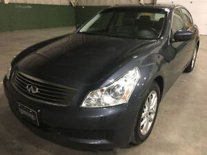 2009 Infiniti G37x AWD, One Owner, No Accidents, Rare!