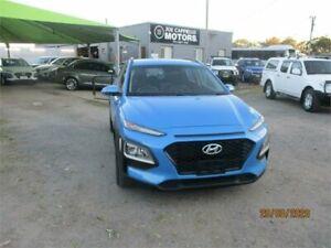 2018 Hyundai Kona OS Active (FWD) Blue 6 Speed Automatic Wagon Heatherbrae Port Stephens Area Preview