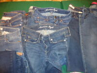 Jeans - small mostly, size 2, 5-6 and waist size 25, 27