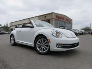 2014 Volkswagen Beetle  CONVERTIBLE HIGHLINE, 50K!