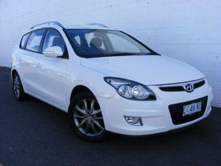 2012 Hyundai i30 FD MY11 SLX cw Wagon White 4 Speed Automatic Wagon Devonport Devonport Area Preview