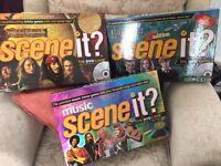 3 Scene It DVD Games