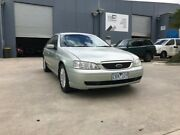 2003 Ford Fairmont BA Green 4 Speed Auto Seq Sportshift Sedan Newport Hobsons Bay Area Preview