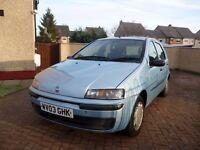 2003 Fiat punto 1.2 5dr hatchback