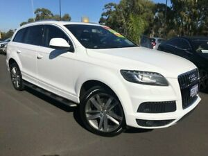 2011 Audi Q7 MY11 TFSI Tiptronic Quattro White 8 Speed Sports Automatic Wagon East Bunbury Bunbury Area Preview