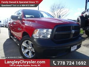 2016 RAM 1500 ST ACCIDENT FREE w/ ECO DIESEL & TOW PACKAGE