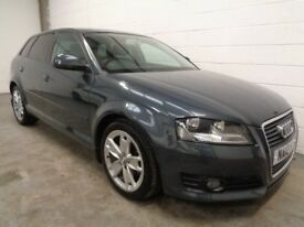 AUDI A3 DIESEL SPORT , 2010 REG **ONLY 44000 MILES + HISTORY ** FINANCE AVAILABLE ** MOT , WARRANTY