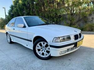 1999 BMW 316i E36 White 5 Speed Manual Hatchback Strathfield Strathfield Area Preview