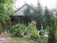 Cabin for Rent on Coe Island Lake