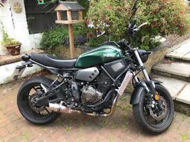 Yamaha xj900s diversion Street fighter scrambler brat | in