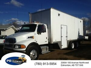 2008 Sterling Acterra T/A Steamer/Wash Truck