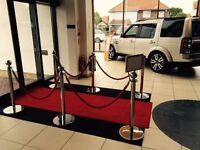 Make the perfect first impression at your Event/Function/Venue - Red Carpet Entrance Hire - VIP